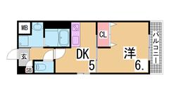 オートロック・システムキッチン・宅配BOX付^^学生様に人気です^^ 903の間取