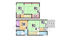 舞子駅近くのファミリー物件 1の間取