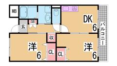 賃料控えめの綺麗なマンションタイプ^^大手ハウスメーカー施工^^ 302の間取