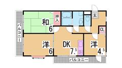 メゾンドルミエール妙法寺 203の間取