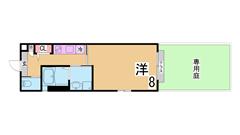 インターネット無料^^システムキッチン オートロック 宅配ボックス 駅近^^ 103A1の間取