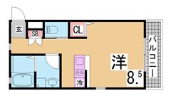 内外装リノベーション^^カウンターキッチン 三点セパレート 追い焚き機能付き^^ 202の間取