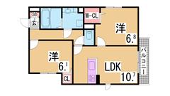 人気の分譲賃貸築浅マンション システムキッチン 浴室乾燥 宅配BOX 801の間取