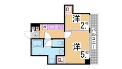 内外装リノベーション^^システムキッチン 三点セパレート 駅までスグ^^ 202の間取