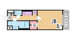 インターネット無料 システムキッチン 宅配ボックス ウォシュレット   302の間取