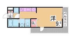 インターネットホームセキュリティ『アイルス』導入 システムキッチン・宅配BOX 608の間取