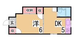 ペット相談 大型キッチン オールフローリング 室内洗濯置き場 103の間取