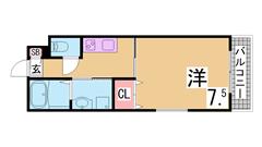築浅物件・システムキッチン・陽当り良好・EV・AL・追い焚き機能^^ 901の間取