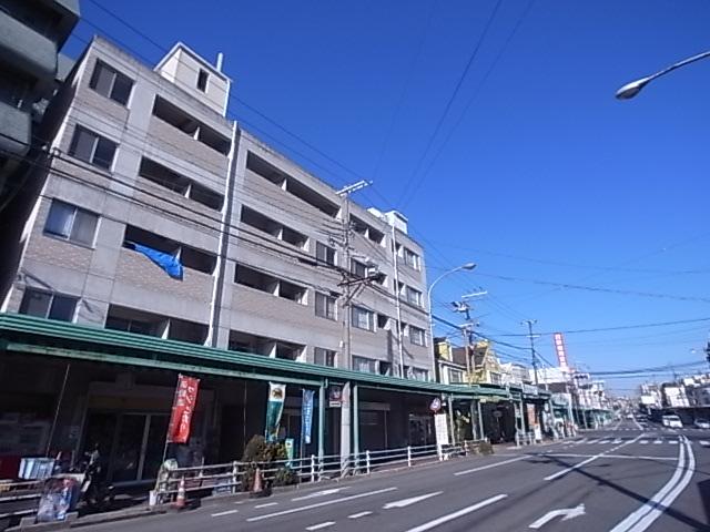 物件番号: 1111282397  神戸市兵庫区上三条町 1K マンション 外観画像
