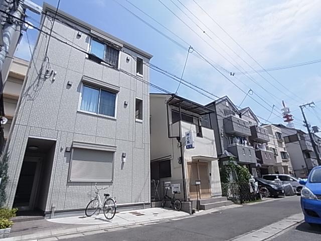 物件番号: 1111286668 エル・メゾン  神戸市兵庫区下沢通3丁目 1K アパート 外観画像