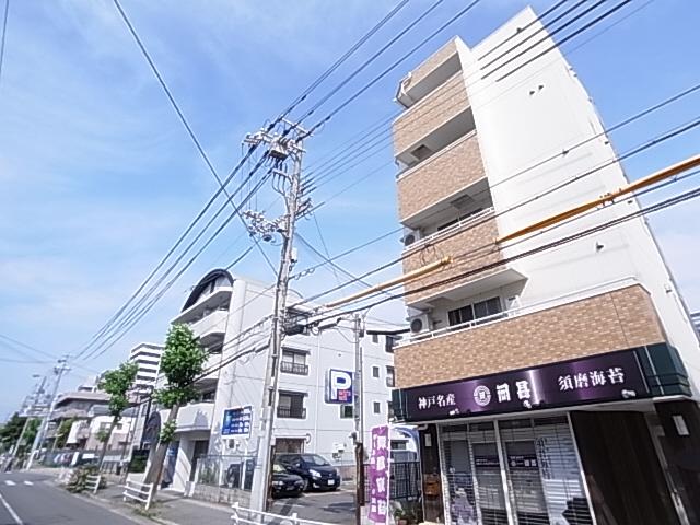 物件番号: 1111288753  神戸市須磨区松風町5丁目 1K マンション 外観画像